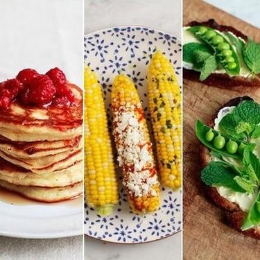美食的色彩混搭 餐桌也是艺术品