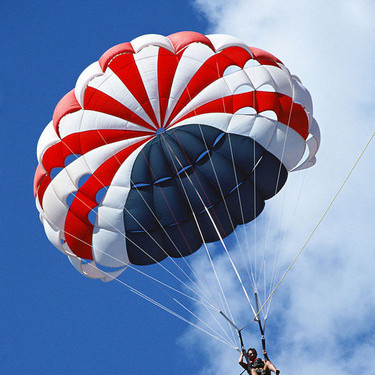 体验高空跳伞 满足你所有的期待
