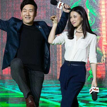 朱珠优雅贵气出席《功夫熊猫3》首映发布会
