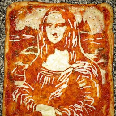 爱他就吃掉他!名人肖像披萨美味出炉