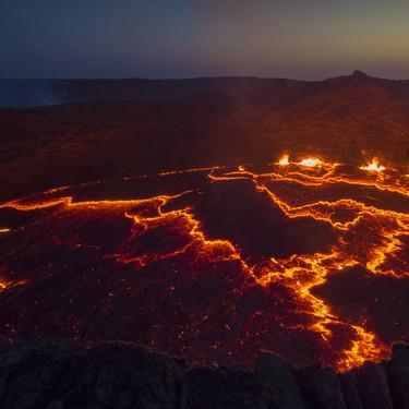 惊艳埃塞俄比亚:近看地球最低陆地火山