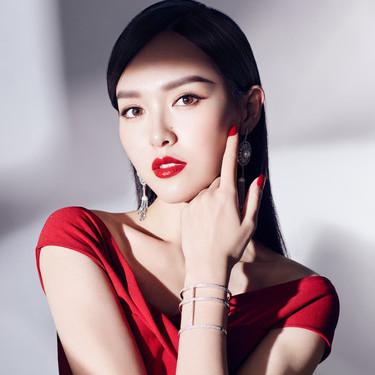 雅诗兰黛彩妆大使唐嫣演绎Brow Now 眉妆系列