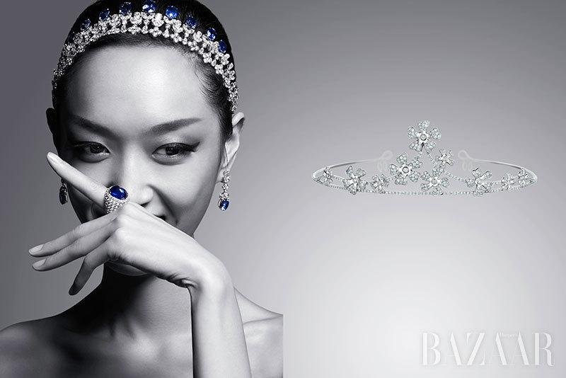 自古以来,钻冕被公认为是至尊皇权的象征,通过贵族之间的代代相传将真爱与优雅延续下来;现在,时尚女王苏芒的钻冕设计更是引起一波冠冕珠宝潮流,戴上它,不仅衬托出女性绝无仅有的灵动,更让你化身为高贵又不失灵气的公主。