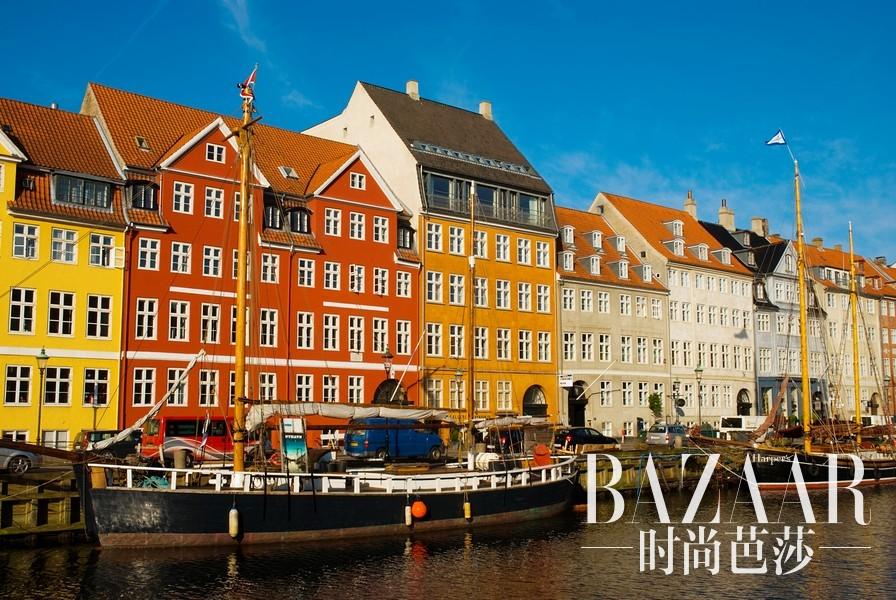 丹麦哥本哈根迷人景色