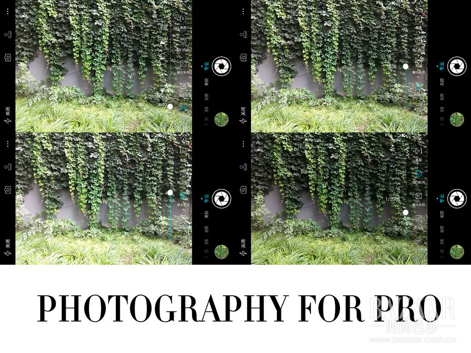 cool1 dual还提供了专业拍照模式,像白平衡,快门速度,曝光补偿等,都可以根据自己的喜好加以设置。     摄影/李东宸 文/李东宸