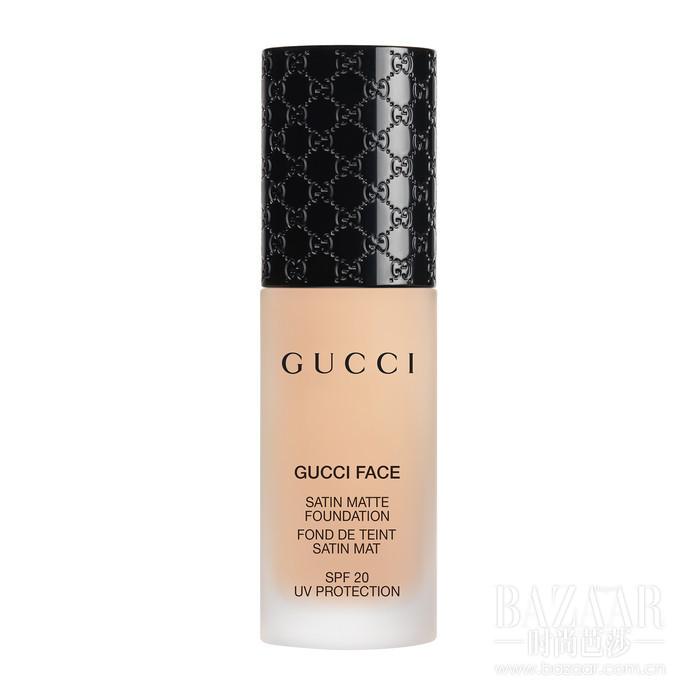 Gucci彩妆Satin Matte Liquid Foundation柔滑哑致粉底液_010