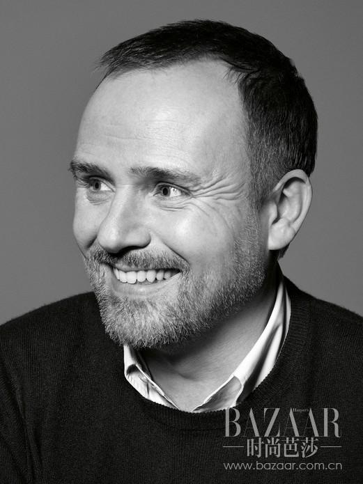 Dior迪奥彩妆创意与形象总监Peter Philips。