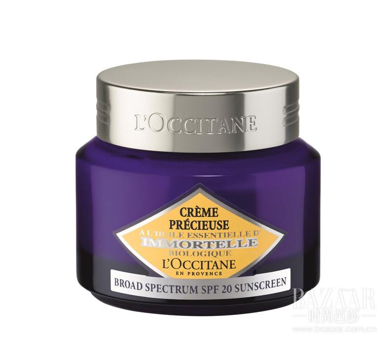 蕴含蜡菊萃取的焕活精华,质地幼滑、轻盈,迅速沁润肌肤。于日间倾注肌肤满满活力,不仅可以帮助淡化浅纹,亦可使肌肤呈现细致光滑、紧致弹润的状态。SPF20防晒配方,在修护肌肤的同时,抵御紫外线及外界环境带来的侵害。