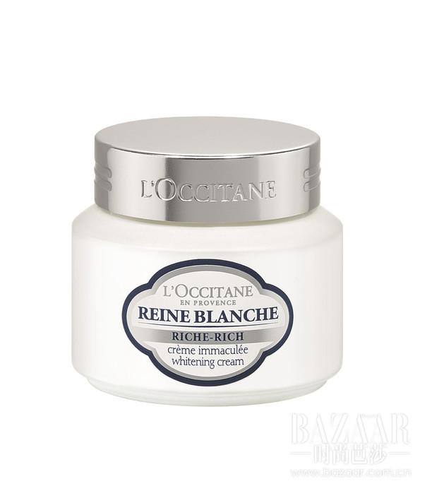 天鹅绒般柔润丝滑的乳霜质地,使用感舒适温和。蕴含普罗旺斯高地榆绣线菊与桑根精萃、维生素 C 衍生物的美白精华,有效美白淡斑,改善暗沉,提升肌肤的光泽度,净透焕亮肌肤。